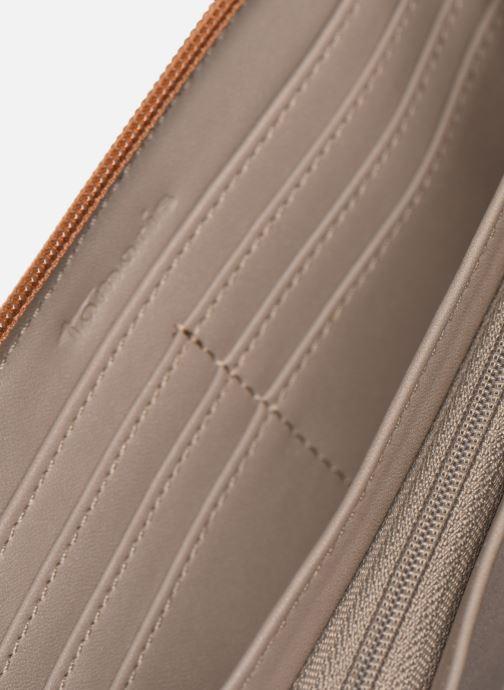 Kleine lederwaren Tamaris Khema Big Zip Around Wallet Bruin achterkant