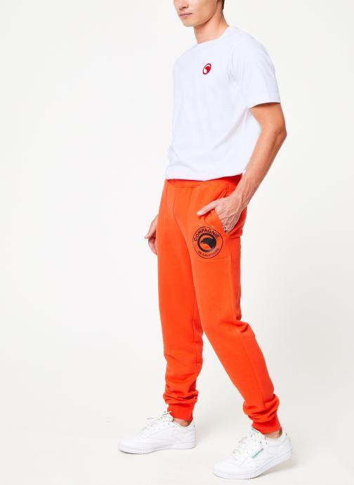 Vêtements Compagnie de Californie Diego Jogpants 2 Orange vue bas / vue portée sac