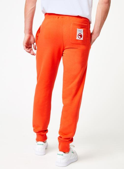 Vêtements Compagnie de Californie Diego Jogpants 2 Orange vue portées chaussures