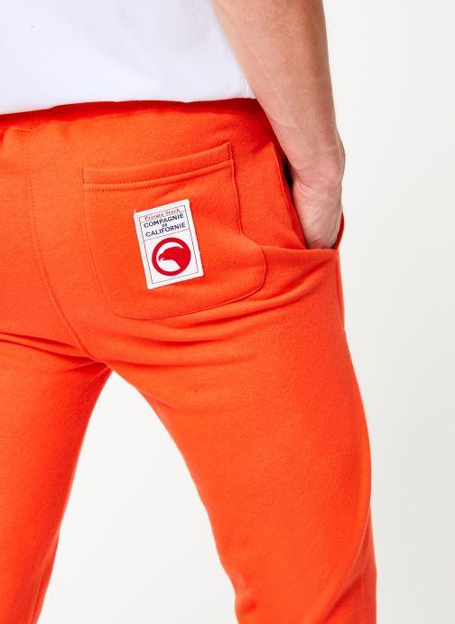 Vêtements Compagnie de Californie Diego Jogpants 2 Orange vue face