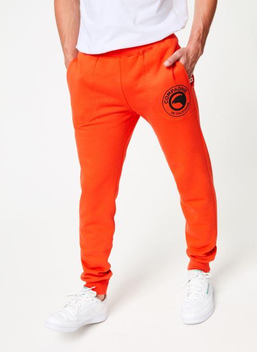 Vêtements Compagnie de Californie Diego Jogpants 2 Orange vue détail/paire
