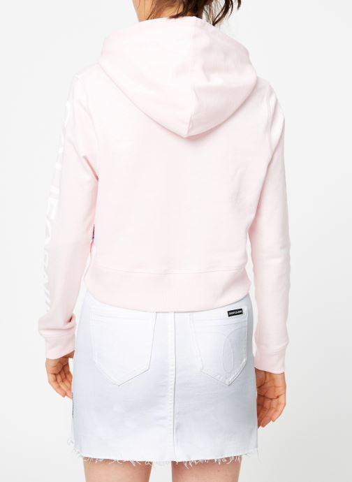 Tøj Compagnie de Californie Arcadia Crooped Hoody Compagnie de Californie Pink se skoene på