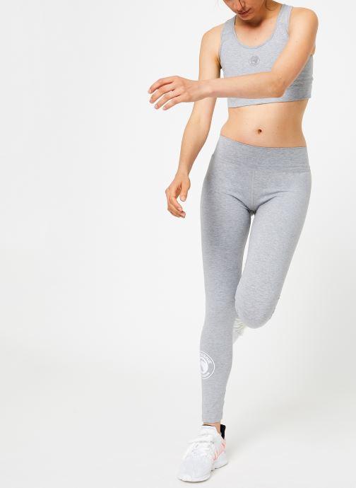Vêtements Compagnie de Californie IRVINE LEGGING PRINT WHITE Gris vue bas / vue portée sac