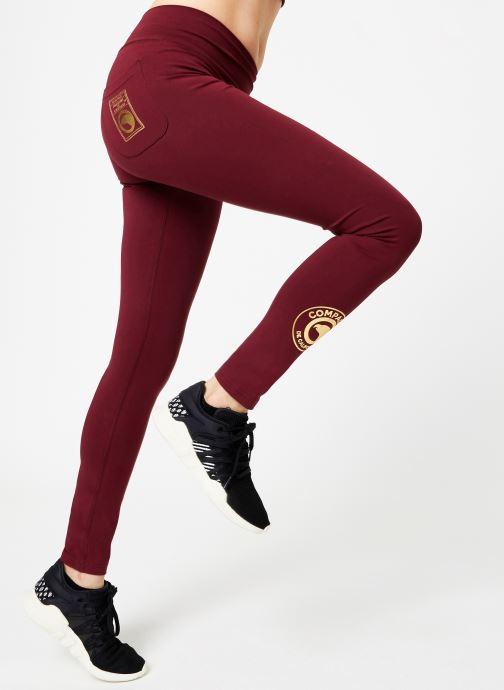 Tøj Compagnie de Californie IRVINE LEGGING PRINT GOLD Bordeaux detaljeret billede af skoene
