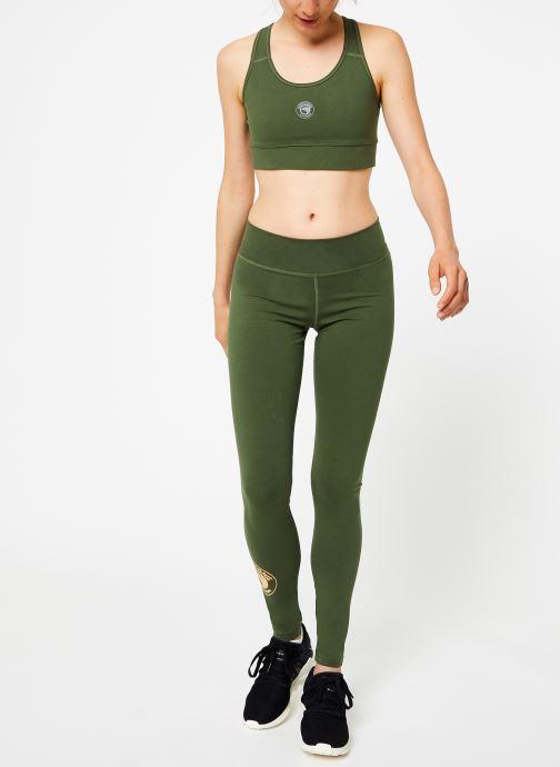 Tøj Compagnie de Californie IRVINE LEGGING PRINT GOLD Grøn se forneden