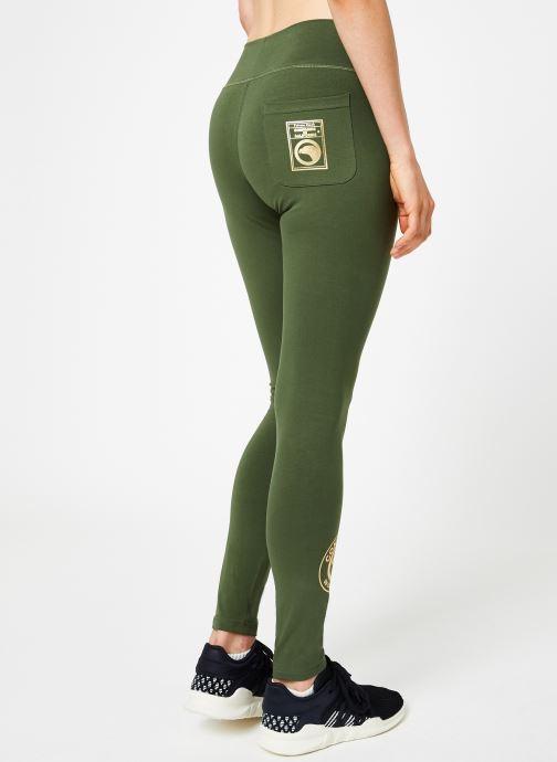 Tøj Compagnie de Californie IRVINE LEGGING PRINT GOLD Grøn se skoene på