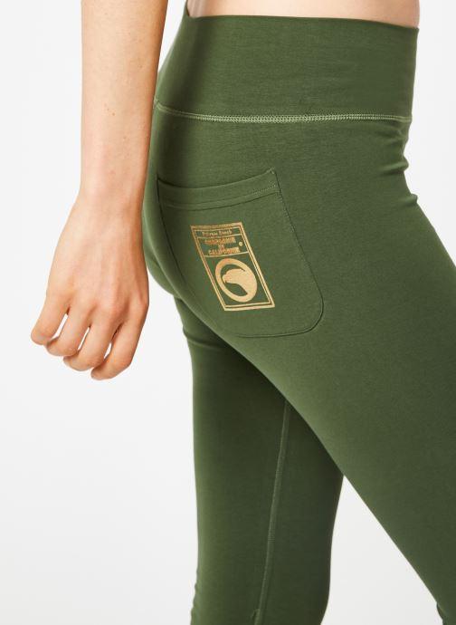 Tøj Compagnie de Californie IRVINE LEGGING PRINT GOLD Grøn se forfra