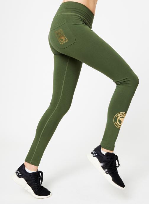 Tøj Compagnie de Californie IRVINE LEGGING PRINT GOLD Grøn detaljeret billede af skoene