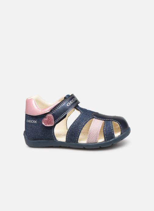 Sandales et nu-pieds Geox B Kaytan Bleu vue derrière