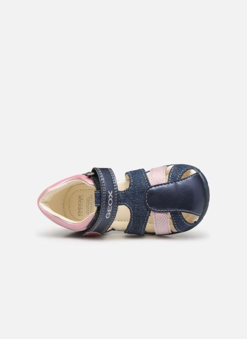 Sandales et nu-pieds Geox B Kaytan Bleu vue gauche