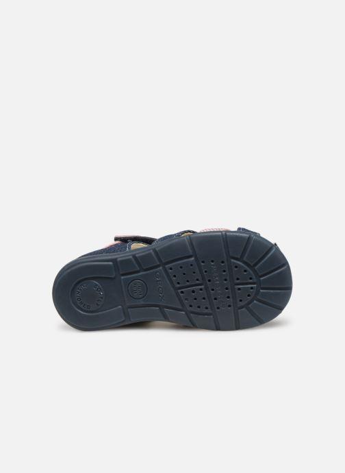 Sandales et nu-pieds Geox B Kaytan Bleu vue haut