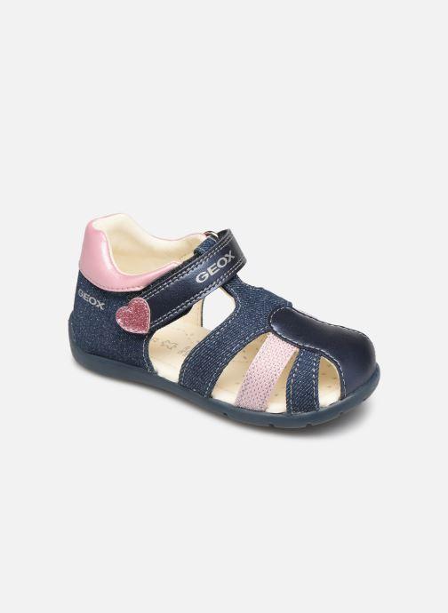 Sandales et nu-pieds Geox B Kaytan Bleu vue détail/paire