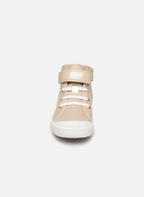 Trainers Geox B KILWI G. C B82D5E Bronze and Gold model view