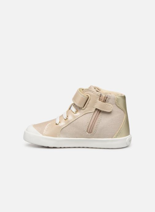 Trainers Geox B KILWI G. C B82D5E Bronze and Gold front view