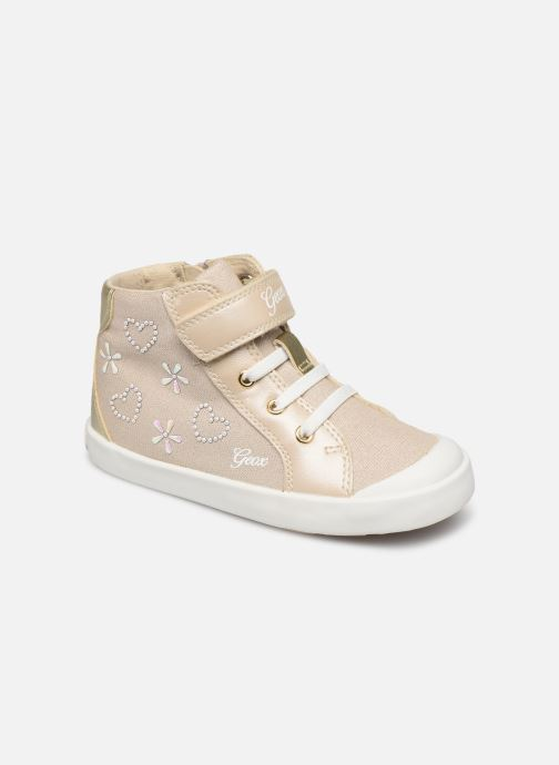 Trainers Geox B KILWI G. C B82D5E Bronze and Gold detailed view/ Pair view