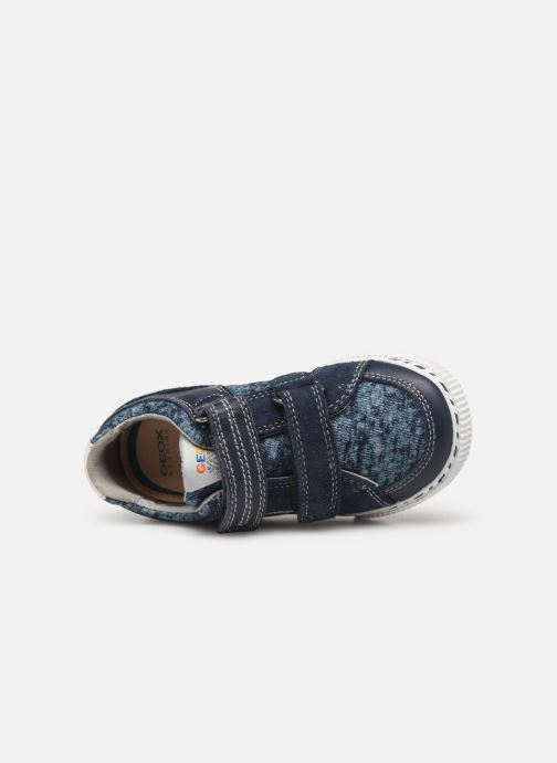 Sneakers Geox B KILWI Boy B82A7B Blauw links