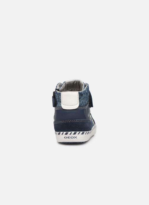 Sneakers Geox B KILWI Boy B82A7C Blauw rechts