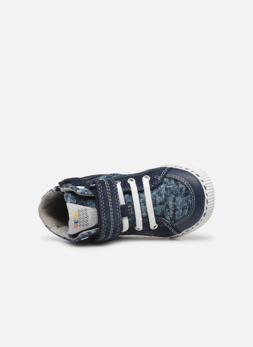 Sneakers Geox B KILWI Boy B82A7C Blauw links