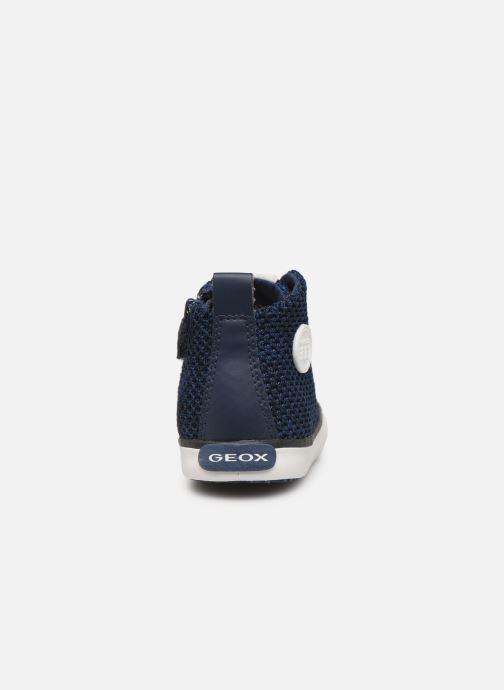 Baskets Geox B KILWI Boy B82A7I Bleu vue droite