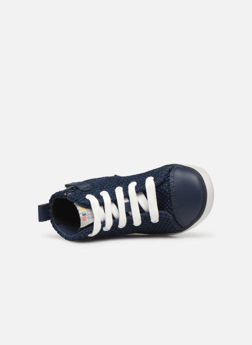 Sneakers Geox B KILWI Boy B82A7I Blauw links