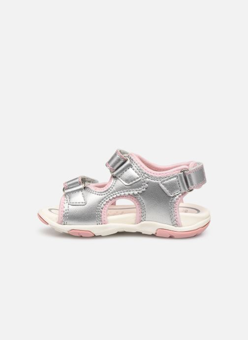 Sandals Geox B S.AGASIM G. B B720ZB Silver front view