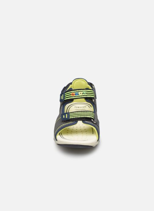 Sandales et nu-pieds Geox B  S.Agasim B. B721AF Gris vue portées chaussures