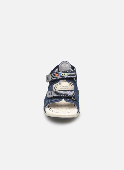 Sandales et nu-pieds Geox B  S.Agasim B. B721AF Bleu vue portées chaussures