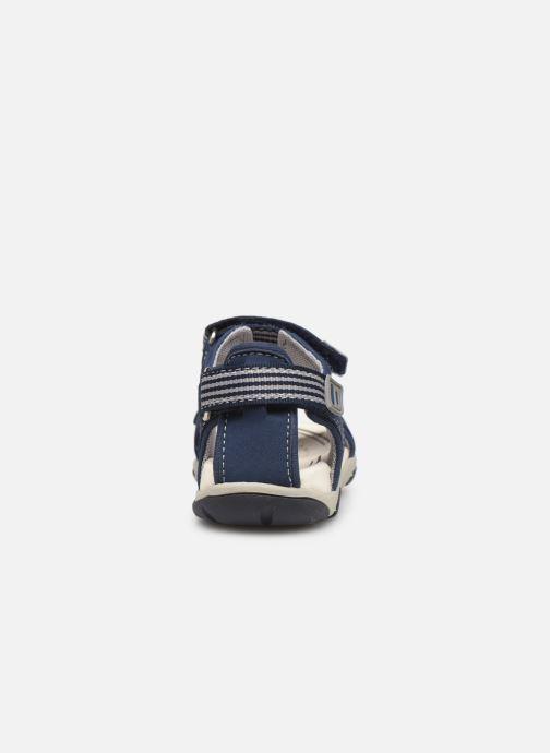 Sandales et nu-pieds Geox B  S.Agasim B. B721AF Bleu vue droite