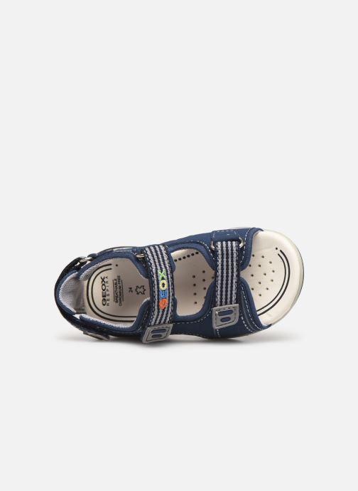 Sandales et nu-pieds Geox B  S.Agasim B. B721AF Bleu vue gauche