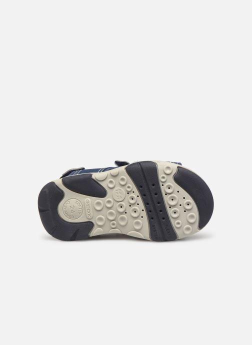 Sandales et nu-pieds Geox B  S.Agasim B. B721AF Bleu vue haut