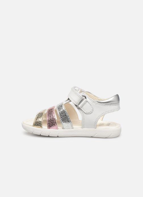 Sandales et nu-pieds Geox B S. Alul G. B821YB Blanc vue face