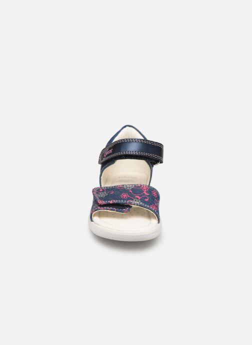 Sandales et nu-pieds Geox B S. Alul G. B821YA Bleu vue portées chaussures