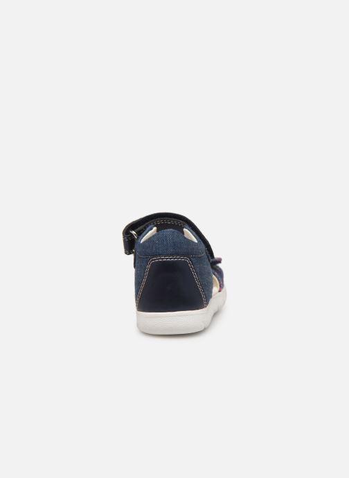 Sandales et nu-pieds Geox B S. Alul G. B821YA Bleu vue droite