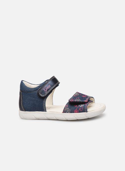 Sandales et nu-pieds Geox B S. Alul G. B821YA Bleu vue derrière
