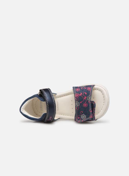 Sandales et nu-pieds Geox B S. Alul G. B821YA Bleu vue gauche