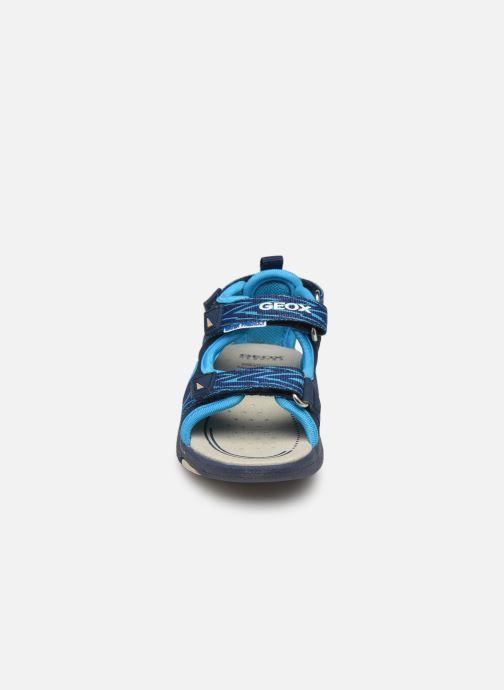 Sandales et nu-pieds Geox B Sandale Multy B. B820FB Bleu vue portées chaussures