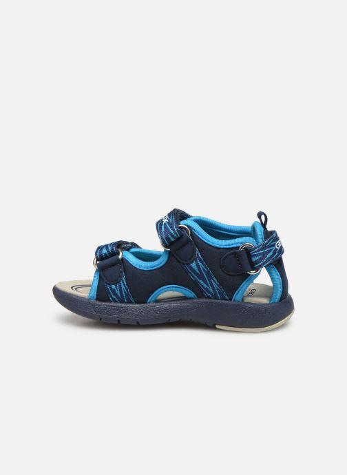 Sandales et nu-pieds Geox B Sandale Multy B. B820FB Bleu vue face