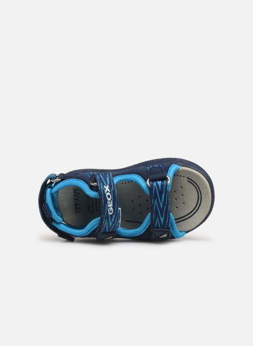 Sandales et nu-pieds Geox B Sandale Multy B. B820FB Bleu vue gauche