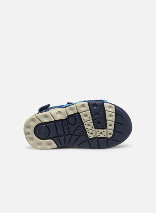 Sandales et nu-pieds Geox B Sandale Multy B. B820FB Bleu vue haut