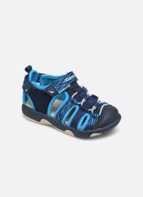 Geox B Sandale Multy B. B820FC (Bleu) Sandales et nu pieds