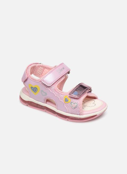 Sandales et nu-pieds Geox B Sandale Todo G. B820EA Rose vue détail/paire