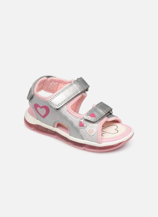 Sandales et nu-pieds Geox B Sandale Todo G. B820EA Argent vue détail/paire