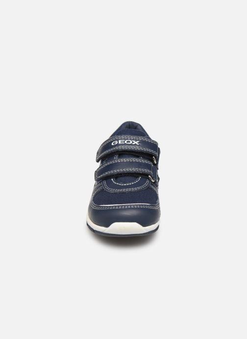 Baskets Geox B Shaax B. B8232A Bleu vue portées chaussures