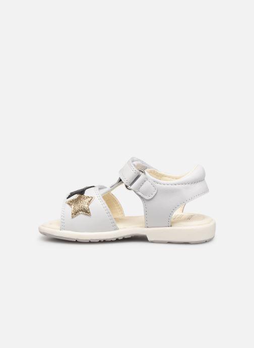 Sandales et nu-pieds Geox B Verred B8221B Blanc vue face