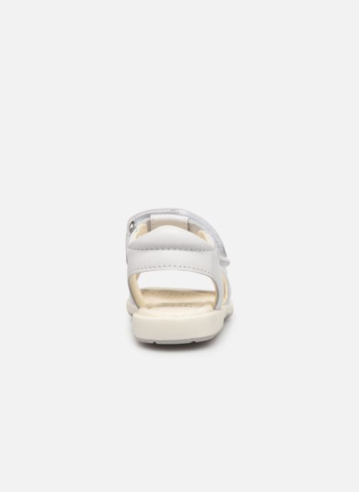 Sandales et nu-pieds Geox B Verred B8221B Blanc vue droite