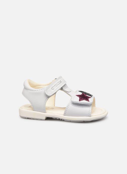 Sandales et nu-pieds Geox B Verred B8221B Blanc vue derrière