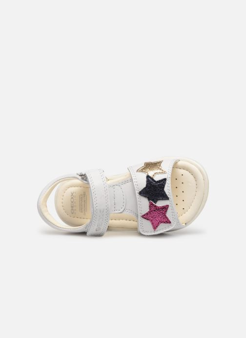 Sandales et nu-pieds Geox B Verred B8221B Blanc vue gauche