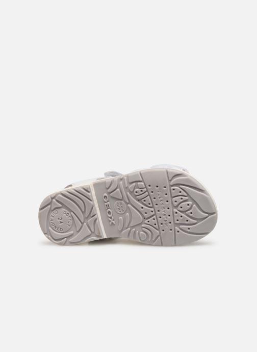 Sandales et nu-pieds Geox B Verred B8221B Blanc vue haut