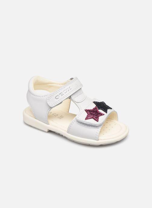 Sandales et nu-pieds Geox B Verred B8221B Blanc vue détail/paire