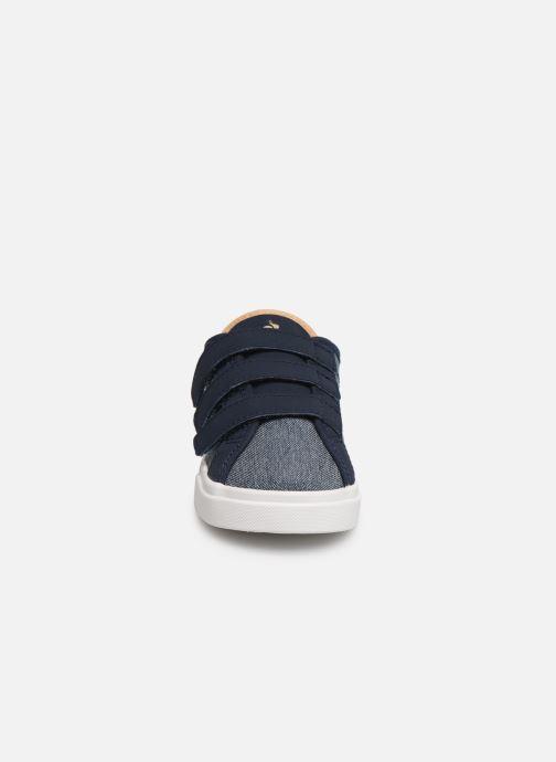 Baskets Le Coq Sportif Verdon Inf Denim Bleu vue portées chaussures